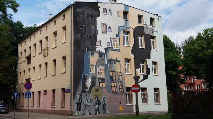 Piotr Chrzanowski, Alan Osiecki, Mural dla Haliny Szwarc