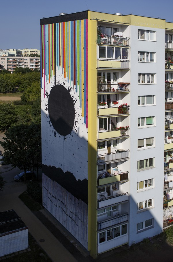 Opiemme-Gdańsk-Tribute to Wislawa Szymborska-2014-Monumental Art