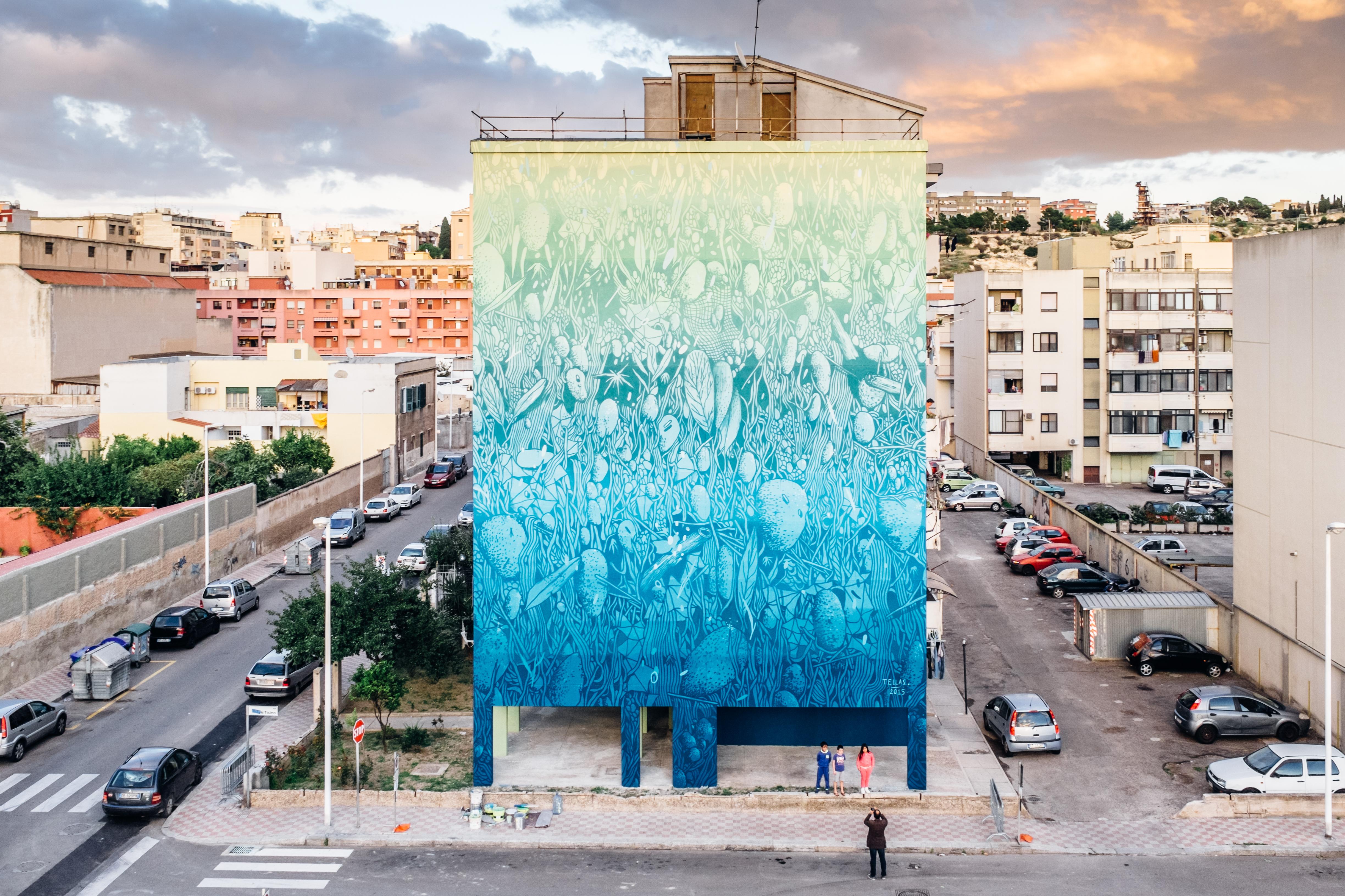 tellas- for cagliari Capitale della cultura 2015 - Cagliari IT