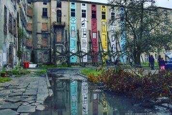 Kasia Breska, Łódzkie totemy/Totems of Lodz, Poland, Urban Forms, ph: Karuzela Wspomnień Agnieszka Kuraszewska.