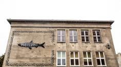 """Opiemme, """"Herring. A Tribute to Władysław Strzemiński""""Lodz, Poland, ph: HaWa."""